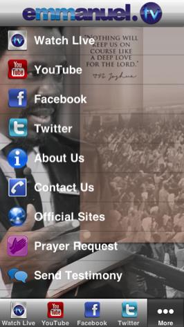 Mobile App | Emmanuel TV